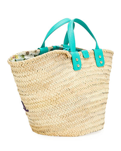 Dolce & Gabbana The Kendra Straw Tote Bag