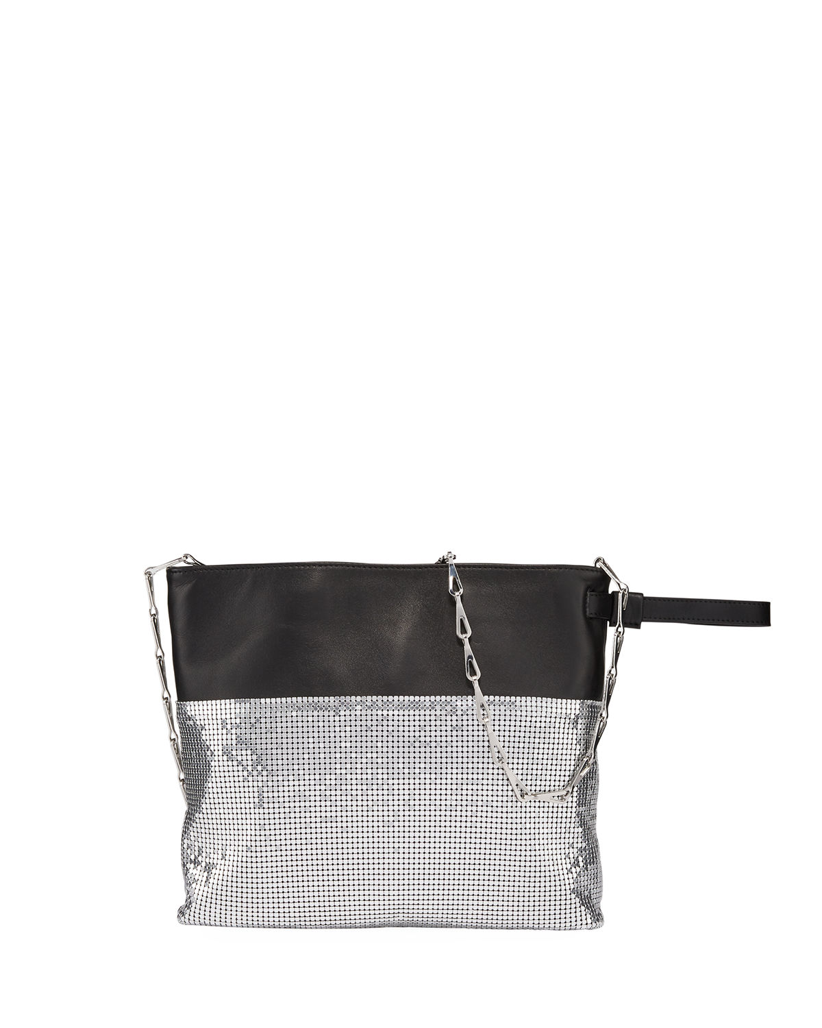 Paco Rabanne Accessories SECTION CHAIN-MAIL POUCH CLUTCH BAG