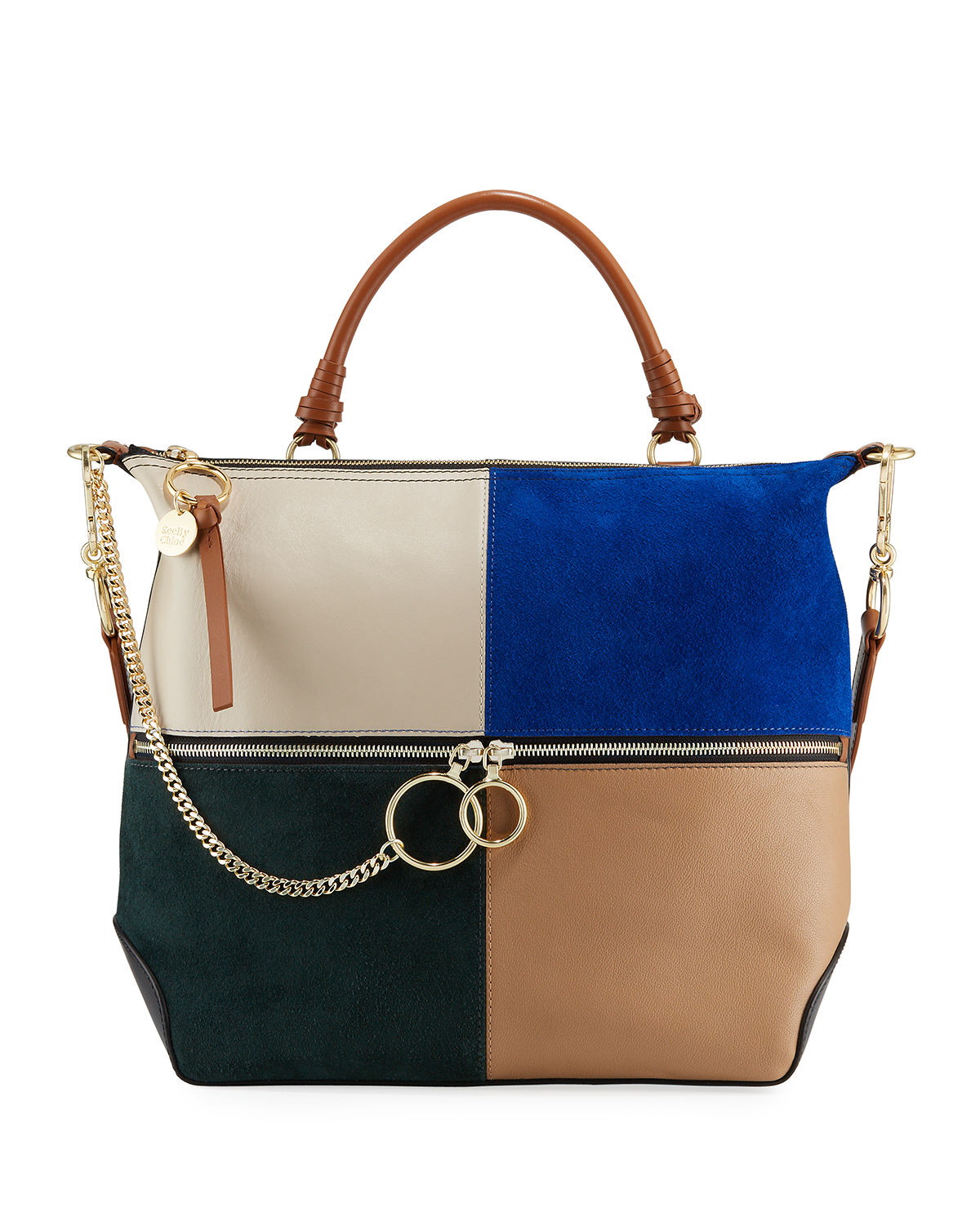 See By Chloé Shoulder EMY PATCHWORK SHOULDER BAG