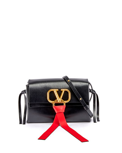 VRING Leather Crossbody Bag