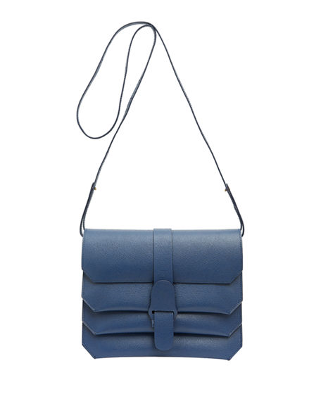 Senreve Pebbled Convertible Belt Clutch Crossbody Bag