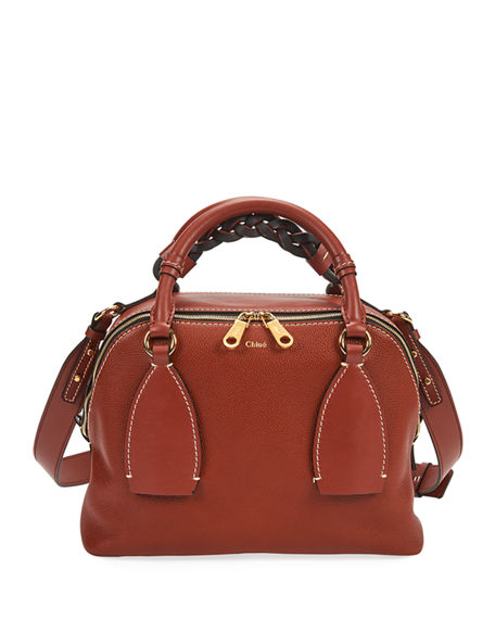 Chloe Daria Small Leather Shoulder Bag