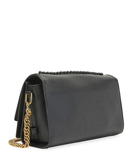 Image 2 of 3: Alexander McQueen The Story Topstitch Leather Shoulder Bag