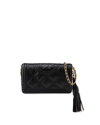 Fleming Soft Quilted Wallet Crossbody Bag