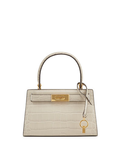 Lee Radziwill Petite Embossed Satchel Bag