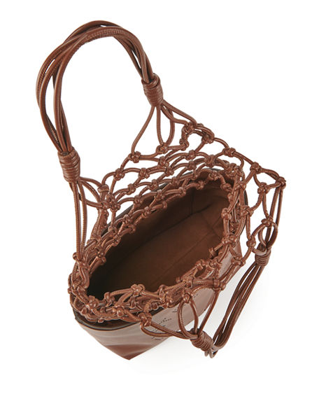 Image 2 of 3: Stella McCartney Alter Napa Knotted Bucket Tote Bag