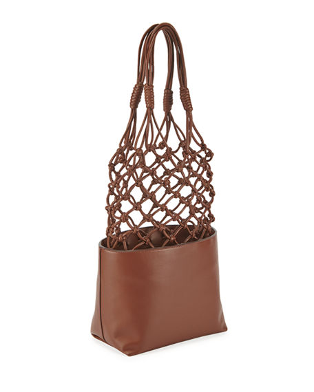 Image 3 of 3: Stella McCartney Alter Napa Knotted Bucket Tote Bag