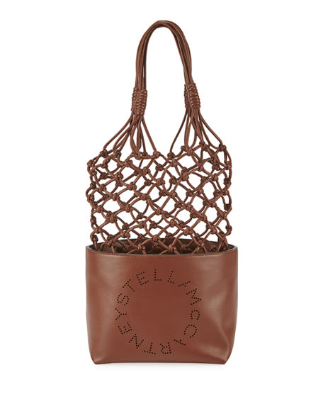 Image 1 of 3: Stella McCartney Alter Napa Knotted Bucket Tote Bag
