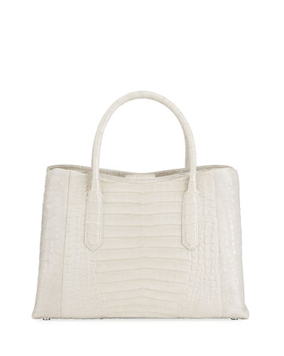 Nancy Gonzalez Medium Top Handle Crocodile Tote Bag