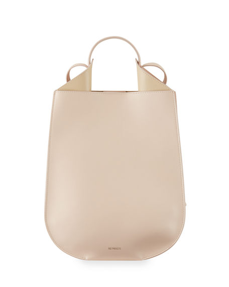 Image 1 of 4: Ree Projects Helene Mini Leather Tote Bag