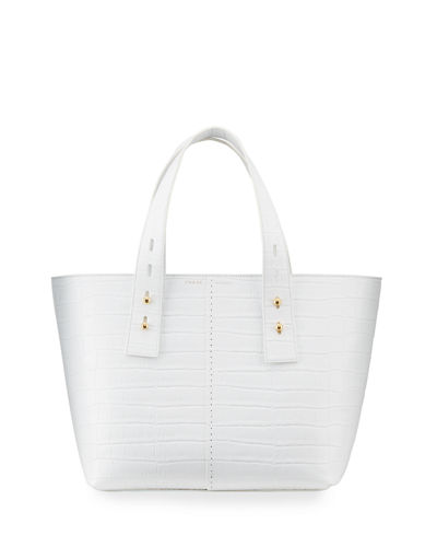 Mock-Croc Medium Tote Bag