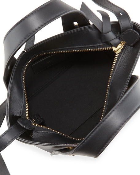 Image 2 of 4: FRAME Les Second Mini Leather Tote Bag
