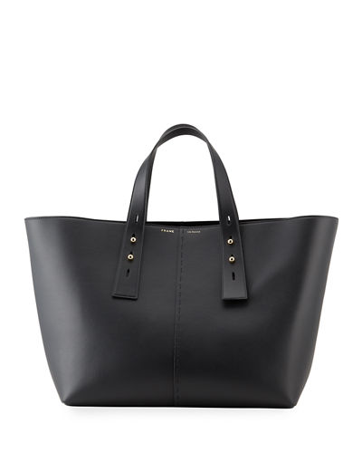 Les Second Large Leather Tote Bag