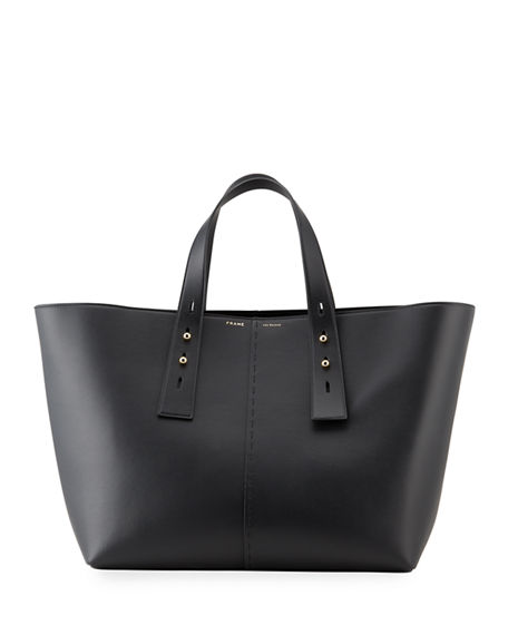 FRAME Les Second Large Leather Tote Bag