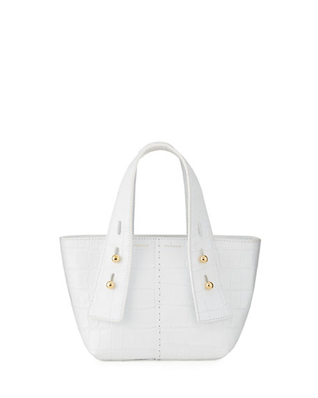 FRAME Les Second Mini Mock-Croc Tote Bag