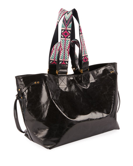 Image 3 of 3: Isabel Marant Wardy New Shopper Tote Bag