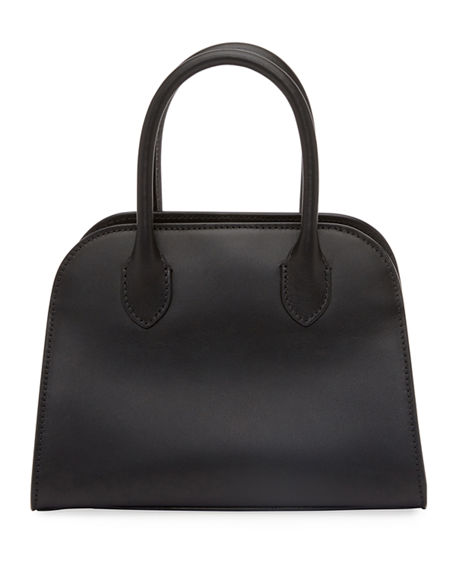 THE ROW Margaux 7.5 Top-Handle Bag in Calfskin Leather