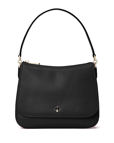 kate spade new york polly leather shoulder bag