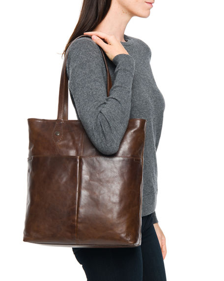 Image 3 of 3: Frye Melissa Simple Tote Bag