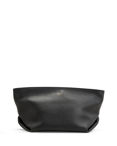 Khaite Adeline Zip Clutch Bag