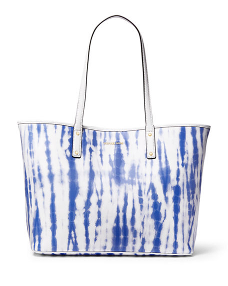 Image 1 of 3: MICHAEL Michael Kors Large Tie-Dye Tote Bag