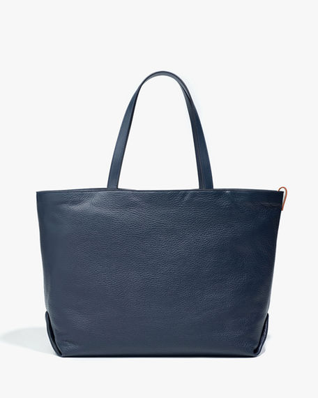 Loro Piana Large Inside-Out Butter Calf/Cashmere Tote Bag