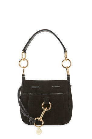See by Chloe Tony Mini Suede Crossbody Bag