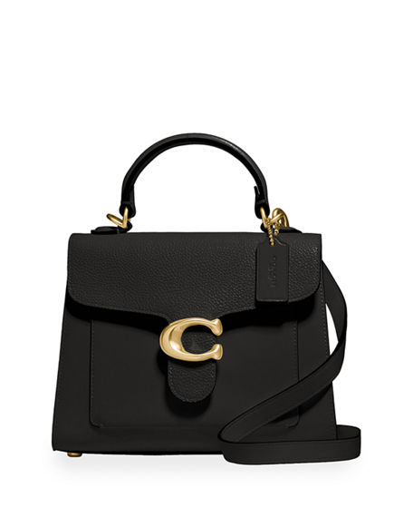 Coach 1941 Tabby Mix-Leather Top-Handle Bag