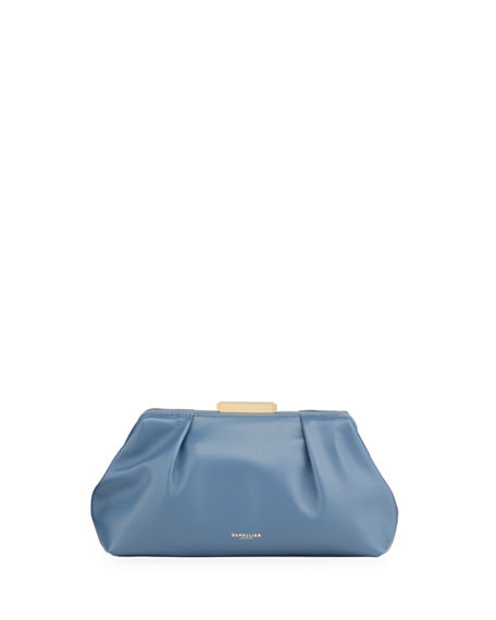 DeMellier Florence Mini Soft Leather Pouch Clutch Bag