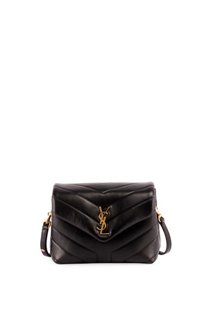 Saint Laurent Loulou Toy YSL Matelasse Calfskin Envelope Crossbody Bag