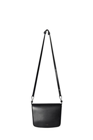 THE ROW Julian Large Leather Crossbody Bag