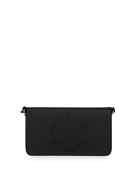 Stella McCartney Wallet Logo Crossbody Bag