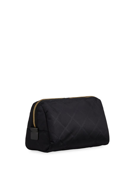 Image 2 of 2: The Marc Jacobs The Beauty Triangle Quilted Cosmetic Bag