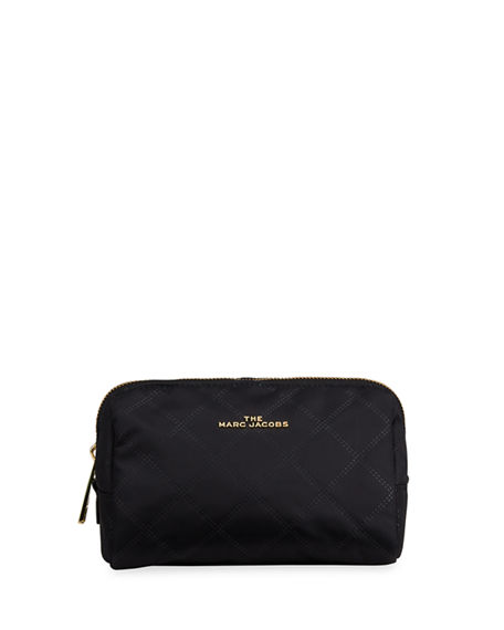 Image 1 of 2: The Marc Jacobs The Beauty Triangle Quilted Cosmetic Bag