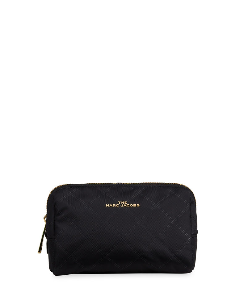 The Marc Jacobs The Beauty Triangle Quilted Cosmetic Bag