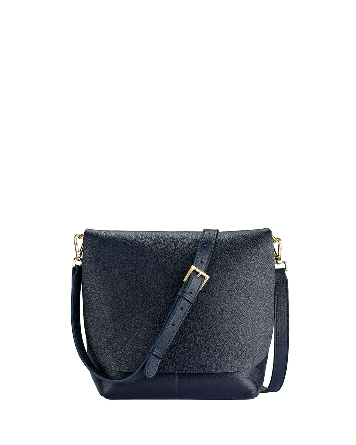 Andy Flap Leather Crossbody Bag