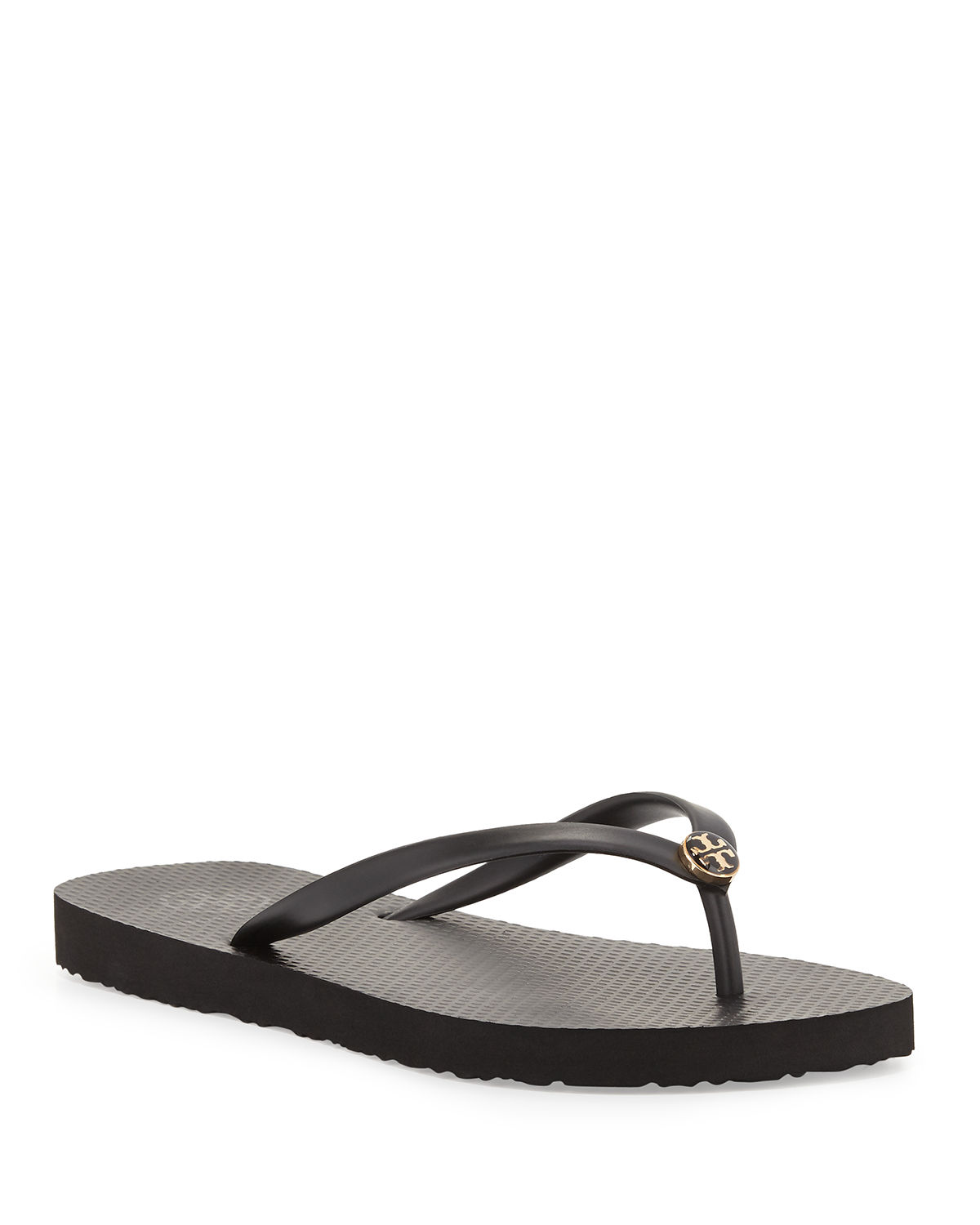 bbe212cac Tory Burch Logo Rubber Flip-Flop