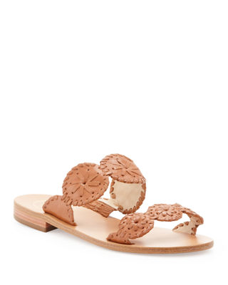 Image 1 of 4: Lauren Double-Strap Sandal