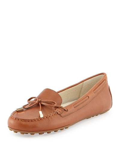 MICHAEL Michael Kors Daisy Leather Moccasin Loafer