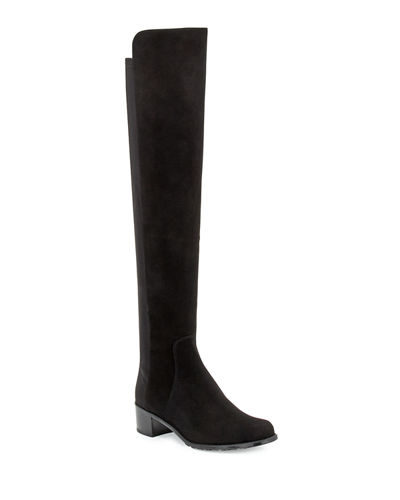 Stuart Weitzman Reserve Suede Over-the-Knee Boot