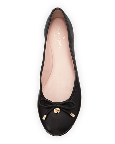 willa classic leather Ballet Flats