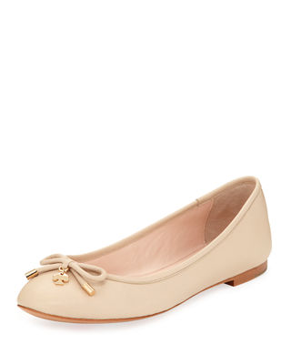 willa classic leather ballerina flat