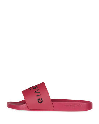 Givenchy Logo Rubber Slide Sandal