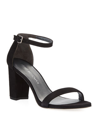 Image 1 of 6: Nearlynude Suede City Sandal