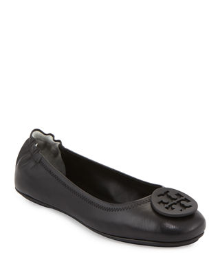Tory Burch Minnie Travel Logo Ballerina Flat