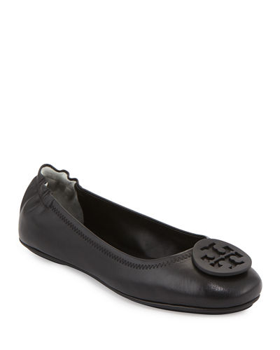 Minnie Travel Logo Ballet Flats