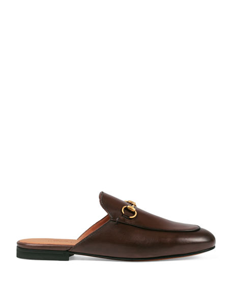 Image 3 of 6: Gucci Princetown Leather Mule