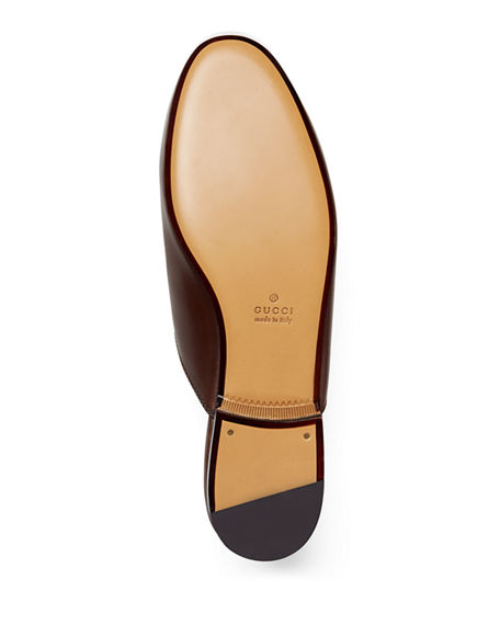 Image 4 of 6: Gucci Princetown Leather Mule