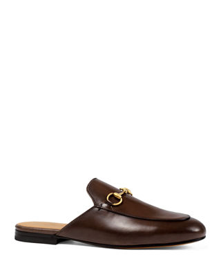 Gucci Princetown Leather Mule