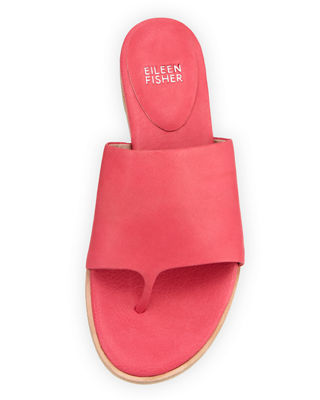 Edge Leather Thong Sandal